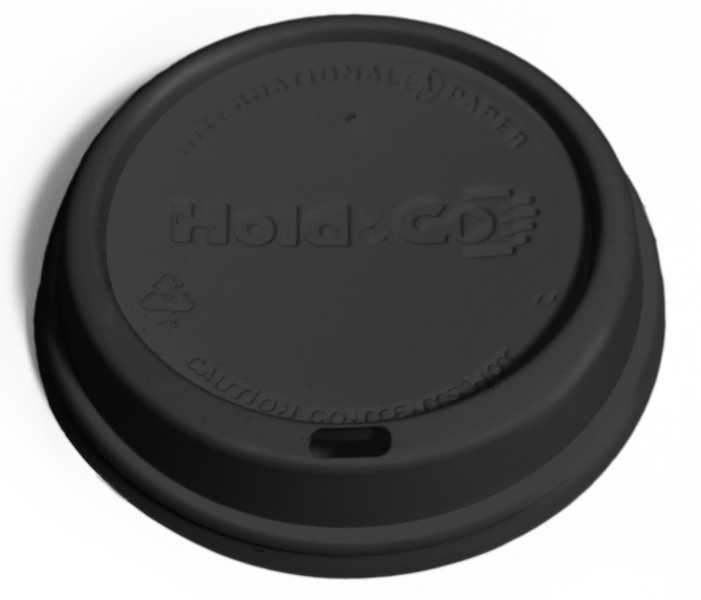 Hold & Go Black Dome Lid